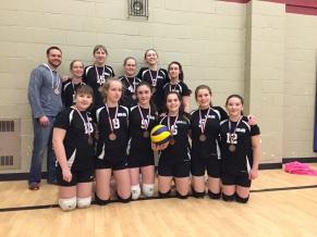 girls volleyball bronze