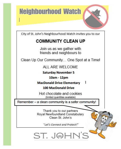 community-clean-up-nov-5