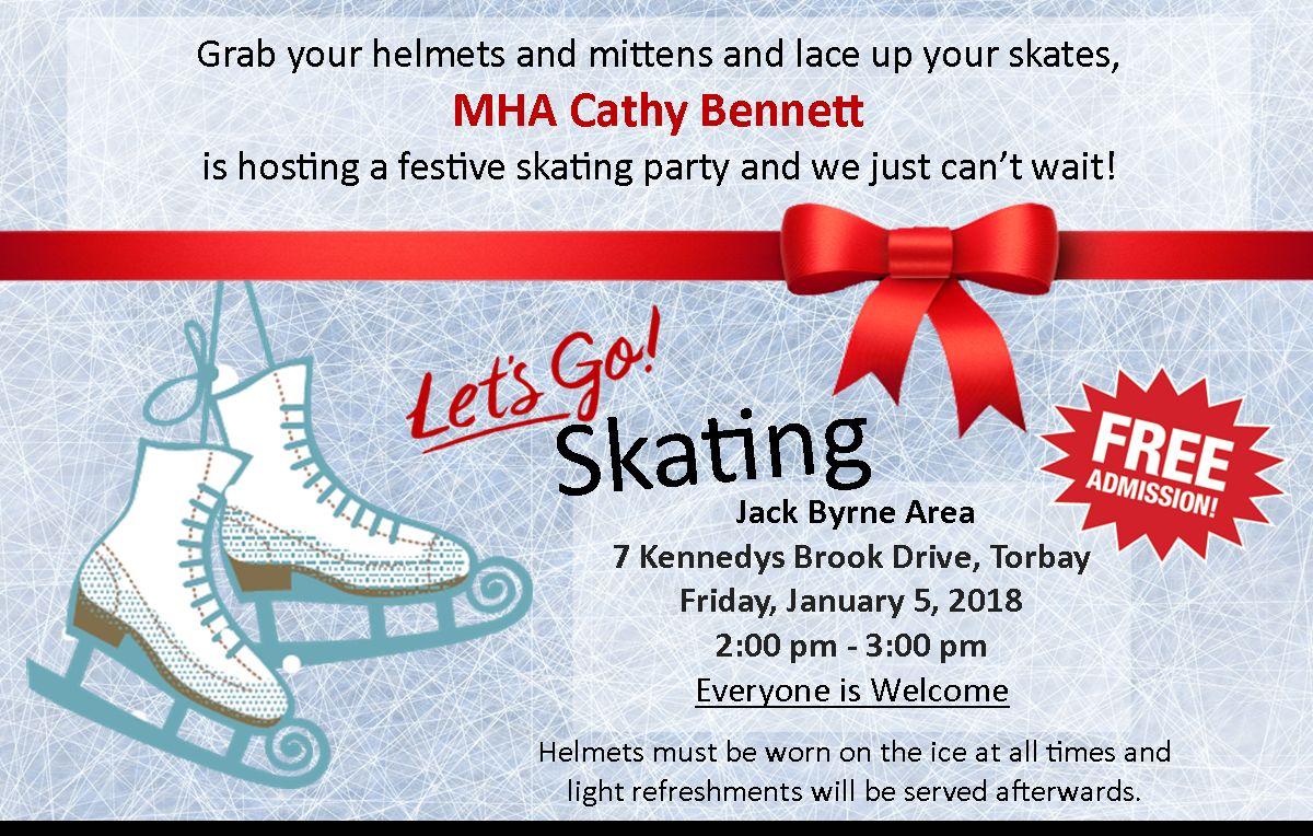 Skating Party – Jan 5th | Macdonald Drive Junior High