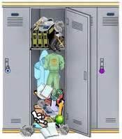 locker clean out
